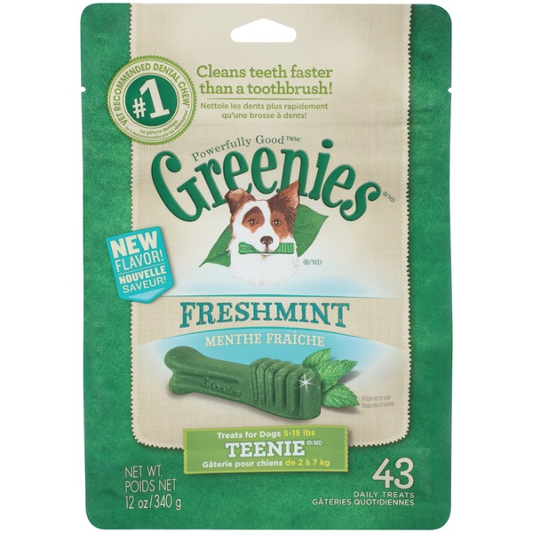 Greenies Freshmint Teenie Dog Treats
