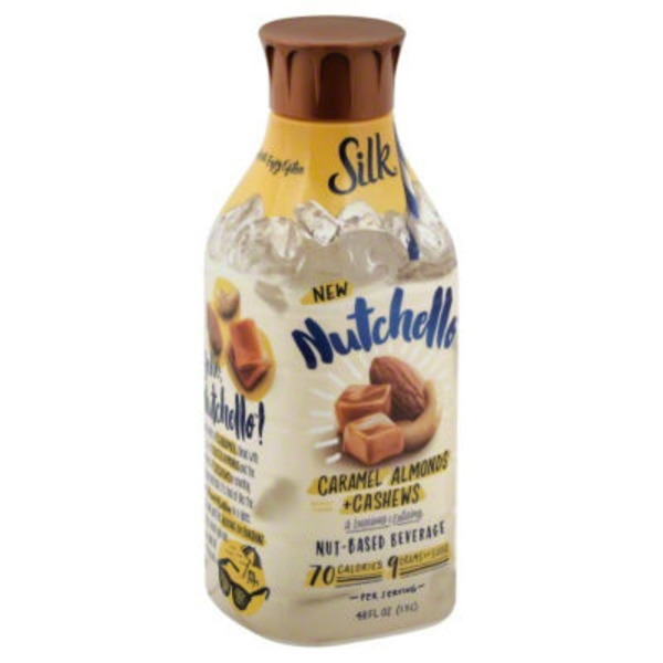 Silk Nutchello Caramel Almonds + Cashews Nut-Based Beverage