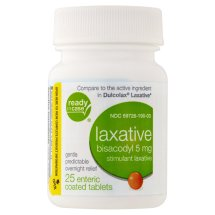PL Developments Laxative Coated Tablets, 5 mg, 25 ct