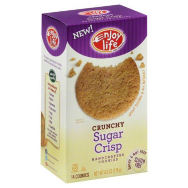 Enjoy Life Crunchy Cookies Sugar Crisp