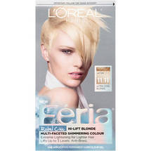 L'Oreal Paris Feria Rebel Chic Hair Color Kit Ultra Cool Blonde 11.11