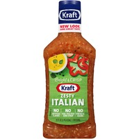 Kraft Salad Dressing Zesty Italian Dressing