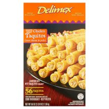 Delimex White Meat Chicken Taquitos, 56 pack, 56 oz