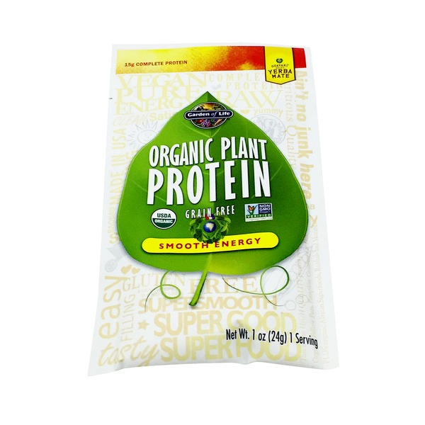 Garden of Life Plant Protein Smooth Energy Packet