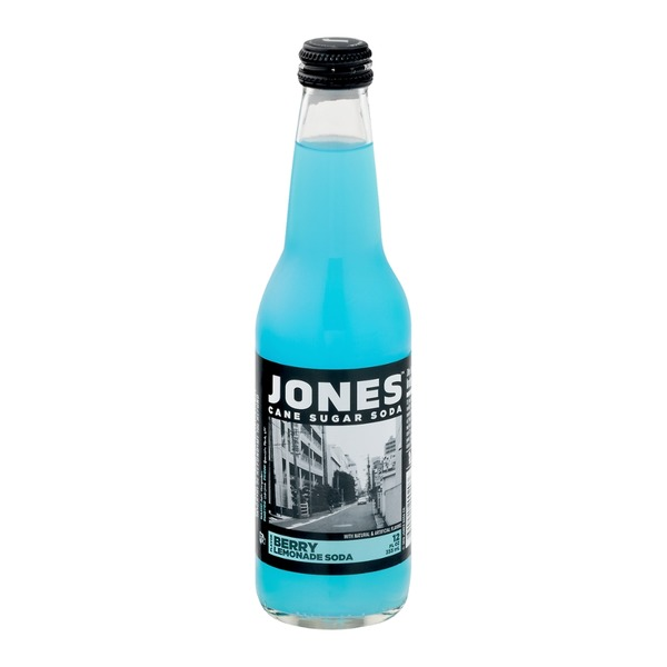 Jones Cane Sugar Soda Berry Lemonade Soda