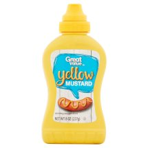 Great Value Yellow Mustard, 8 oz