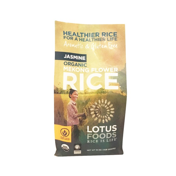 Lotus Foods Organic Mekong Flower Jasmine Rice