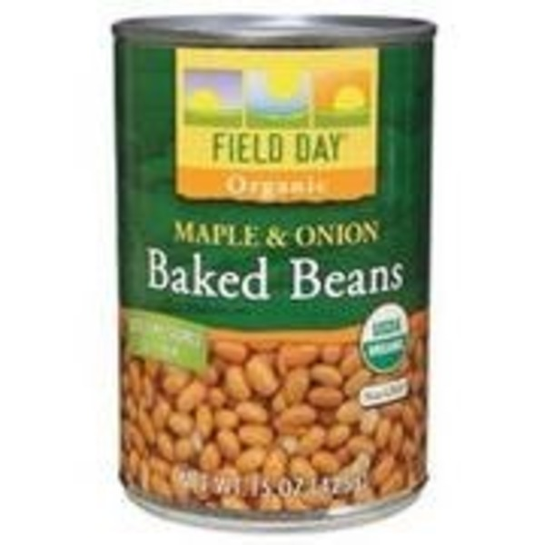 Field Day Organic Maple Onion Baked Beans