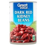 Great Value Dark Red Kidney Beans, 15.5 oz
