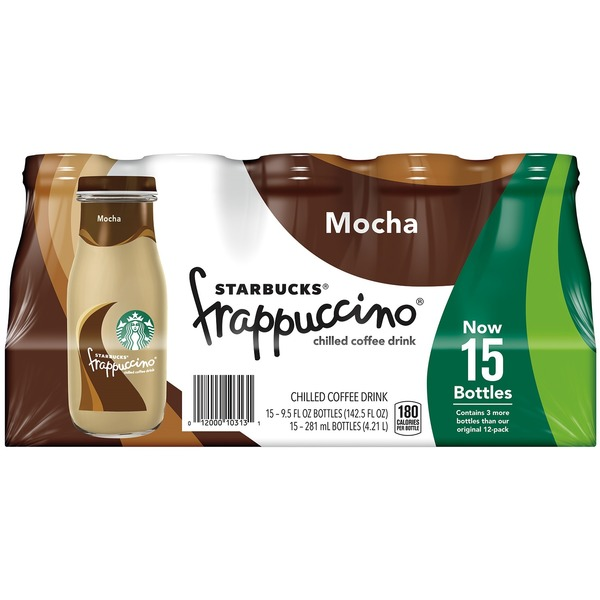 Starbucks Mocha Frappuccino, 15 X 9.5 Fl Oz From Costco In