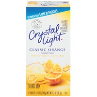 Crystal Light On the Go Classic Orange Drink Mix