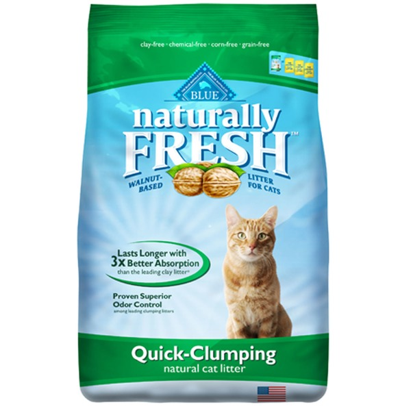 Blue Buffalo Cat Litter, Natural, Quick-Clumping
