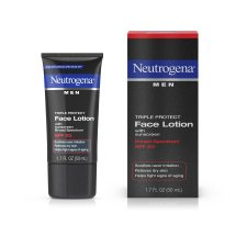 Neutrogena Men Triple Protect Face Lotion With Sunscreen, Broad Spectrum Spf 20, 1.7 Fl. Oz