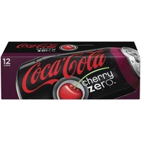 Coca Cola Cherry Zero Fridge Pack Cola