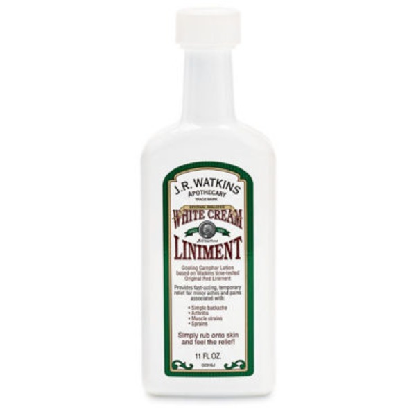 J.R. Watkins J.R. Watkins White Cream Liniment Cooling Camphor Lotion