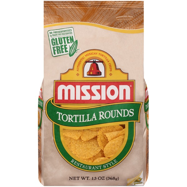 Mission Rounds Tortilla Chips