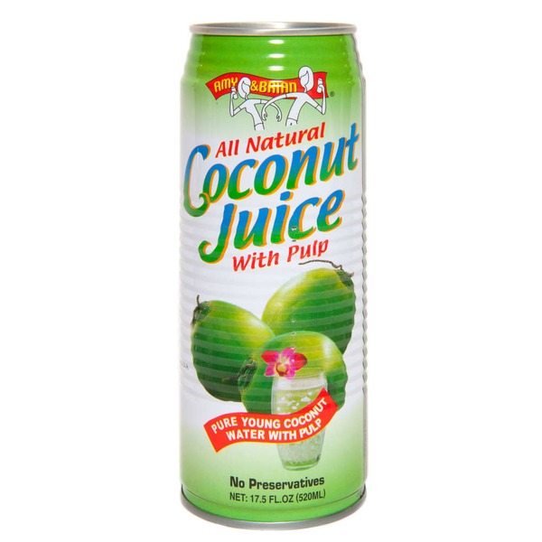 Amy & Brian All Natural Coconut Juice With Pulp