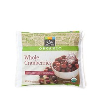 365 Organic Whole Cranberries