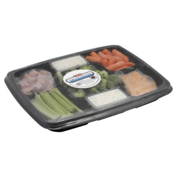 H-E-B Veggie Meat And Cheese Tray