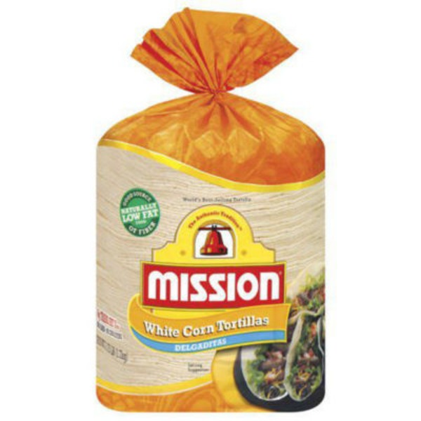 Mission Thin White Corn Tortillas