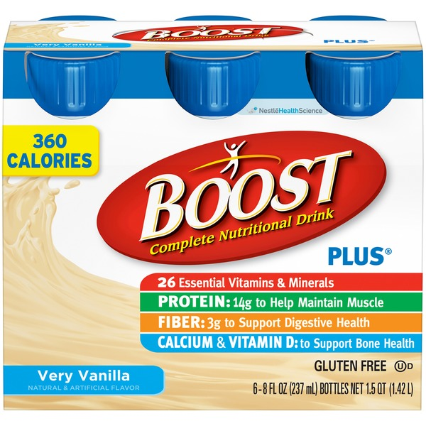 Boost Plus Vanilla Delight Complete Nutritional Drink