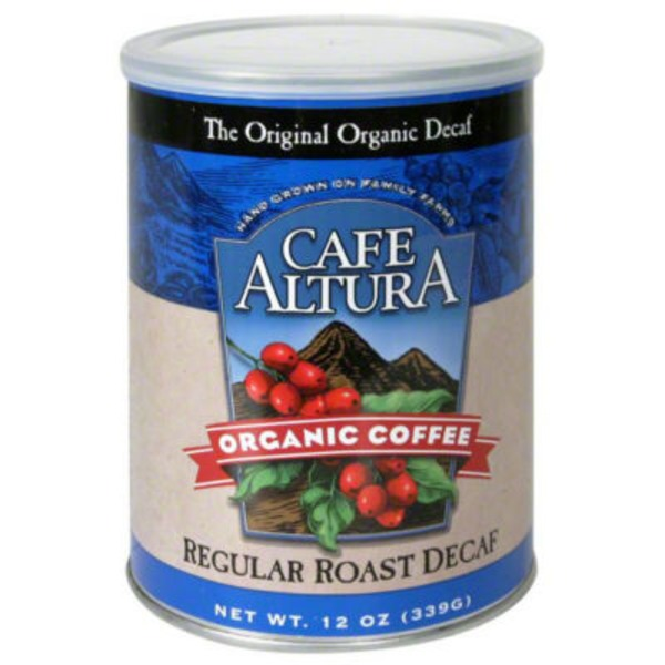 Cafe Altura Organic Coffee Regular Roast Decaf