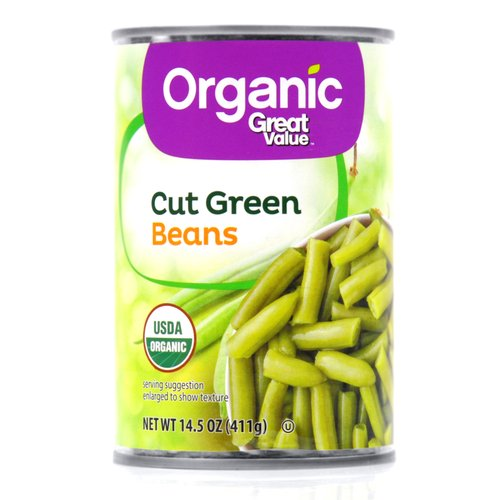 Great Value Organic Green Beans
