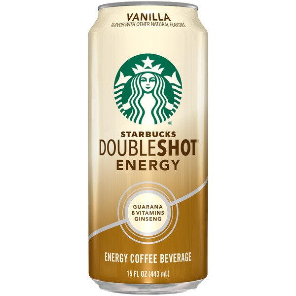 Starbucks Doubleshot Energy Vanilla Energy Coffee Beverage