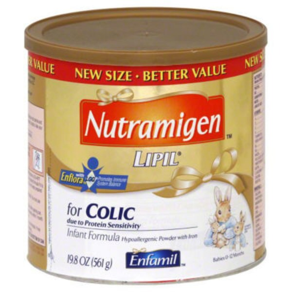 Nutramigen Hypoallergenic with Iron 0-12 Months Infant Formula Powder