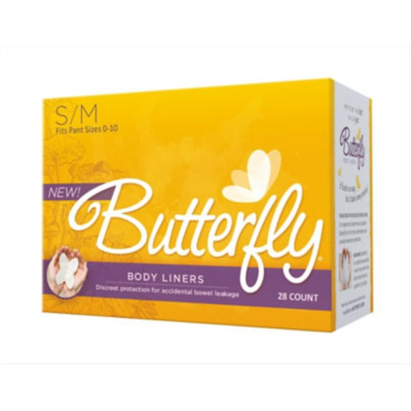 Butterfly Body Liners - Large/Extra Large