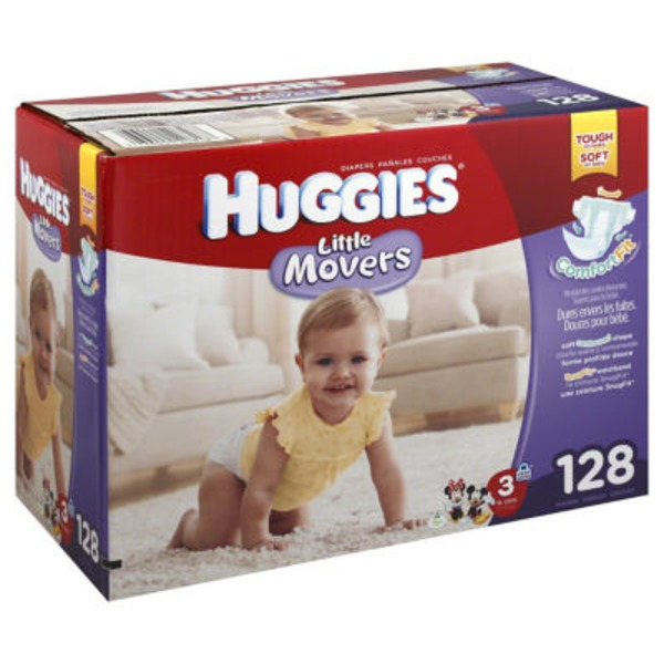 Huggies Supreme Little Movers Size 3 Diapers