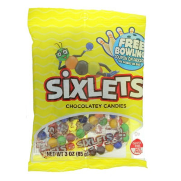 Sweetworks Sixlets 8 Ball Tube Peg Bag