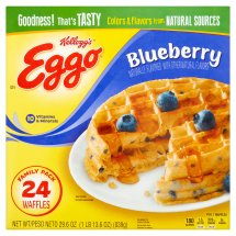Kellogg's Eggo Blueberry Waffles 24 ct Box