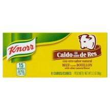 Knorr Beef Cube Bouillon 3.1 oz, 8 ct