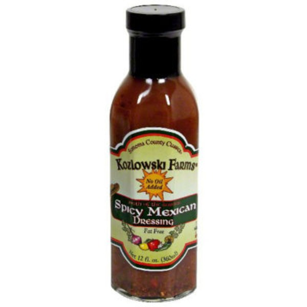 Kozlowski Farms Oil Free Fat Free Spicy Mexican Dressing