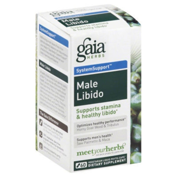 Gaia Herbs Male Libido System Support