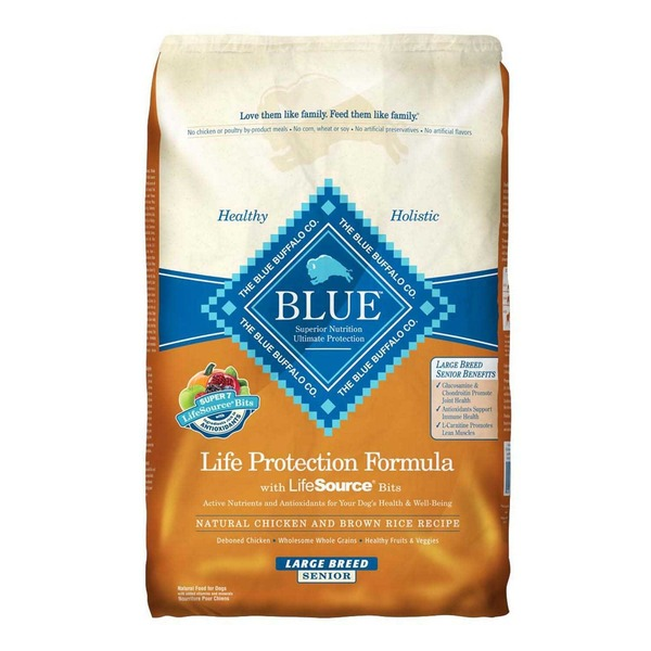 Blue Buffalo Life Protection Formula with LifeSource Bits Natural Chicken and Brown Rice Recipe