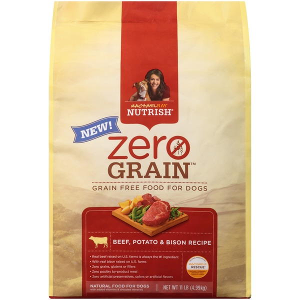 Nutrish Zero Grain Beef Potato & Bison Recipe Dog Food