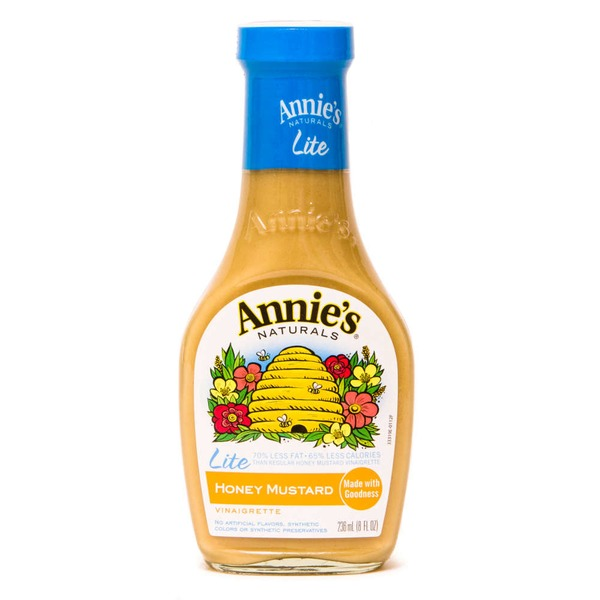 Annie's Homegrown Lite Honey Mustard Dressing Lite