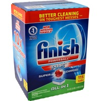 Finish Powerball Plus Super Charged All-in-1 Dishwashing Tablets