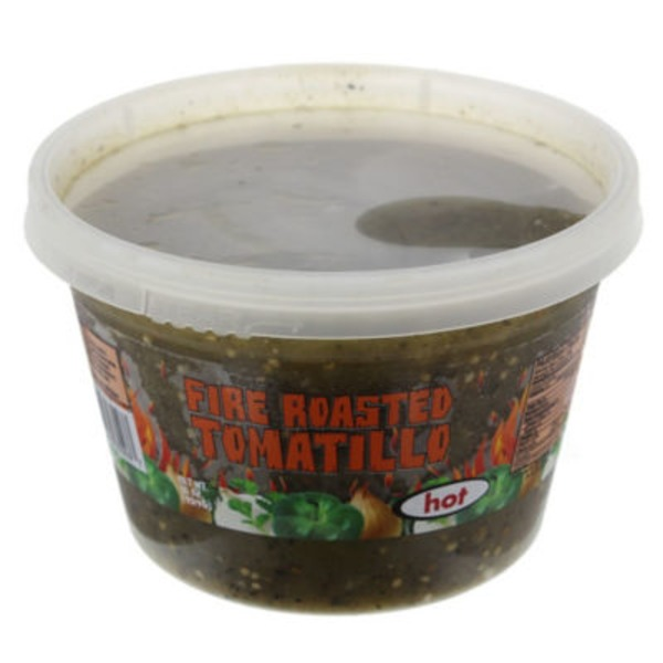 Packer 3 Chile Fire Roasted Tomatillo Salsa
