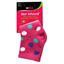 Airplus Aloe Infused Ultra Moisturizing Socks