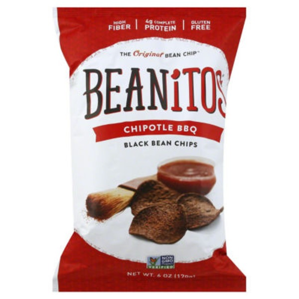 Beanitos Gluten-Free Chipotle BBQ Black Bean Chips