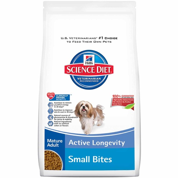Hill's Science Diet Dog Food, Dry, Mature Adult (7+ Years)