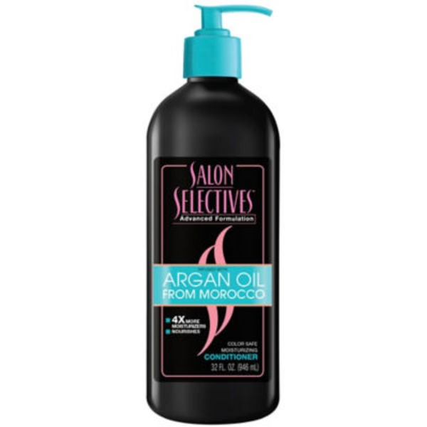 Salon Selectives Color Safe Moisturizing Conditioner Infused With Aragan Oil