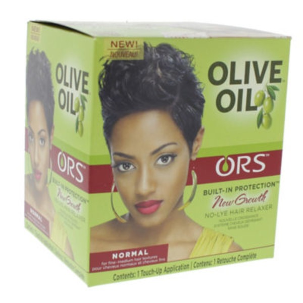 Ors Hair Relaxer, No-Lye, New Growth, Built-In Protection, Normal