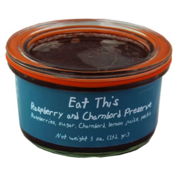 Eat This Raspberry Chambord Preserve
