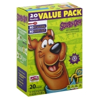 Betty Crocker Fruit Flavored Snacks Scooby-Doo! Assorted Fruit Flavors Value Pack