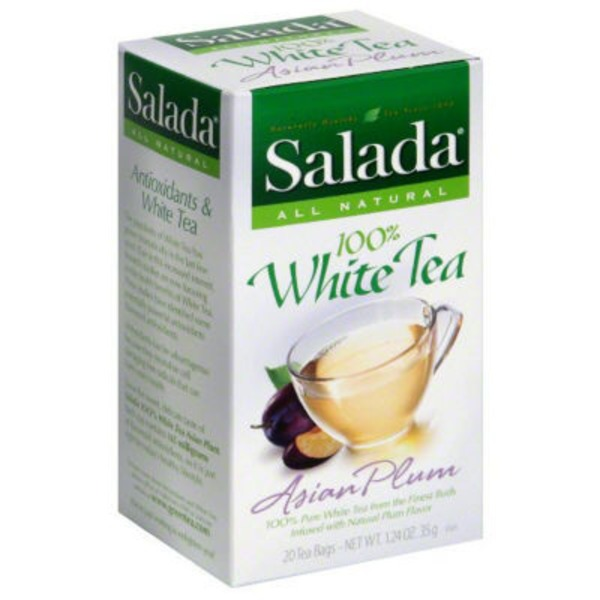 Salada Asian Plum White Tea Tea Bags