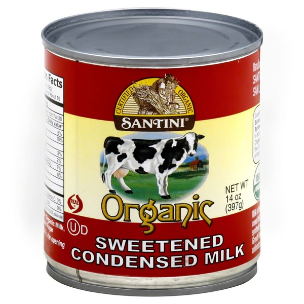 Santini Organic Sweetened Condensed Milk